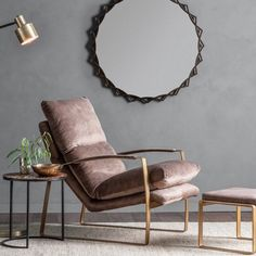 brown leather relax arm chair by the forest & co | notonthehighstreet.com