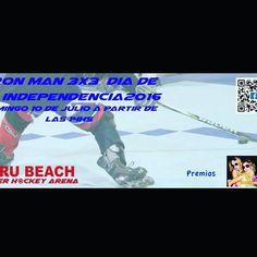 Iron Man día de la independencia Domingo 10 de julio @perubeachrollerhockeyarena http://ift.tt/29kIEXR - http://ift.tt/1HQJd81