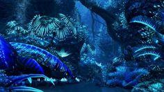 Pics For > Bioluminescent Plants Avatar