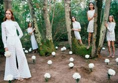Valentino Spring 2015 Does it get more ethereal than washed up mermaids and forrest nymphs, all donning Valentino's ever so poetic spring collection?! I think not.