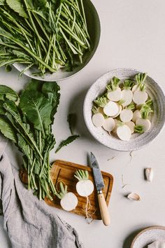 Miso Roasted Japanese Turnips recipe: The easiest recipe to use up those white radishes you find in your farmer's market.
