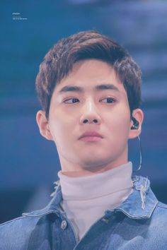 """180203 #Suho #Exo at Exo Fan Festival Concert """"Green Nature"""" ."""