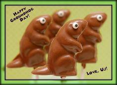 Happy Groundhog Day!!! #cute #food #holidays #Groundhog_Day