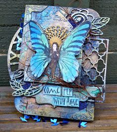 Rubber Dance Blog: Guest Designer Katy Leitch - Mini Assemblage