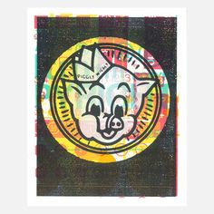 Piggly Wiggly 16x20 now featured on Fab.
