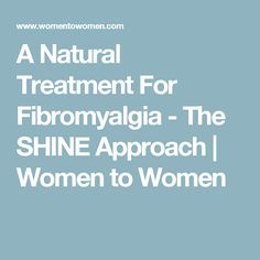 A natural approach to treatment of fibromyalgia pain. Women's Health Network offers information on symptoms of fibromyalgia and natural treatments. Fibromyalgia Pain, Chronic Pain, Migraine Cause, I Feel Good, Health Articles, Natural Treatments, Natural Healing, Herbalism, Sjogren's Syndrome