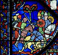 Chartres: A Battle Between Crusaders and The Moors | The Legends of Charlemagne (ca.1205-40)