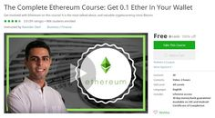 Coupon udemy barefoot wines co founders 3 ways to cut costs in coupon udemy the complete ethereum course get ether in your wallet off course discounts free malvernweather Image collections