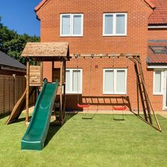 Get your little ones out in the fresh air with a wooden climbing frame. Bring the park to the garden with a MaxiFort Frontier Climbing Frame. Wooden Climbing Frame, Climbing Frames, Garden Buildings, Heart For Kids, The Fresh, Play Houses, Cabin, Outdoor, Park