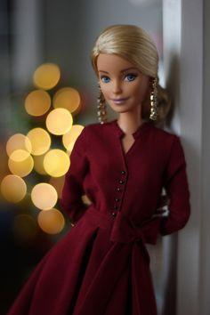 Barbie Doll House, Barbie Life, Barbie Style, Juste Zoe, Sewing Barbie Clothes, Barbie Fashionista Dolls, Beautiful Barbie Dolls, Barbie Collection, Barbie Dress