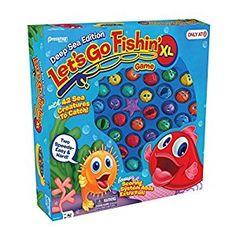 amazoncom lets go fishin xl deep sea edition exclusive toys amp