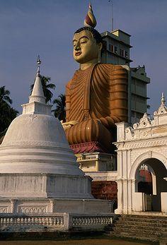 Wevurukannala Temple in Dikkawella, 20km east of Matara, Sri Lanka