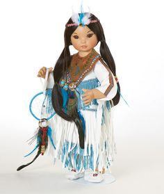Buy Princess Native American Beauty L. Doll By Marie Osmond by C-Toy&Game Native American Decor, Native American Dolls, Native American Beauty, Native American Indians, Marie Osmond, Ashton Drake, Girl Dolls, Barbie Dolls, American Girl