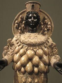 Artemis. The Black Madonna: Primordial Ancestress