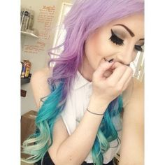 Pastel Ombre Hair.