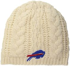 07d718c5361 Amazon.com   NFL Buffalo Bills Women s Waco OTS Beanie Knit Cap