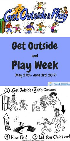 Celebrate Get Outside and Play week
