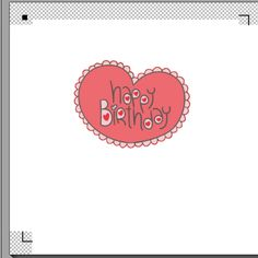 fichier sst  ** coeur print and cut happy birthday    ** pour silhouette studio cameo portait vectorisation vecto