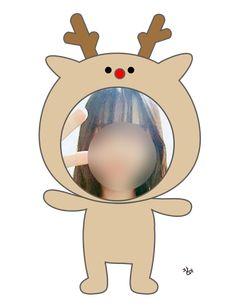 크리스마스 환경구성 도안 : 네이버 블로그 Christmas Deco, Cute Stickers, Tweety, Clip Art, Birthday, Kids, Fictional Characters, December, Xmas