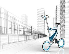 The MORI Folding Bike Can Be Customized and Conforms to Your Needs