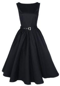 Lindy Bop Vintage 50S Audrey Hepburn Style Swing Party Rockabilly Evening Dress,