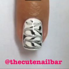 Tutorial time! Grab your toothpicks! Paint two coats of base, and immediately after you paint your second coat paint the stripes on. Use any colours you like to create your own look! ~Maddie Products used: ~Pure Love by @ellamilapolish ~Nail Art Deco Black by @lacolorscosmetics  #thecutenailbar #nailpromote #nailswag #nailartist #nailpolish #naildesigns #nailsofinstagram  #nailart #naildesign #nailartheaven #nailpro