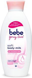 Die neue bebe young care body milk ist da! Review gefällig? ;)