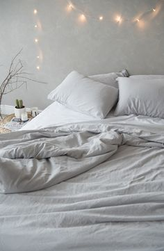 Soft stonewashed cotton bedding, for your dreamy relaxed bedroom.