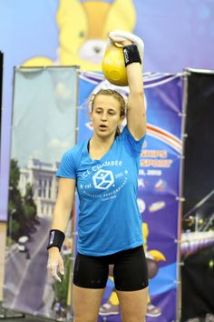 Brittany earning her silver medal at the 2013 World Championship in Tyumen, Russia... always representing in KettleGuard! (photo taken by Ivan Denisov)