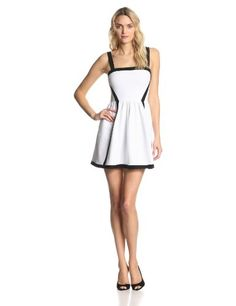 Juicy Couture Women's Colorblock Ottoman Cocktail Dress Add it to your wishlist at yourwishfromme.com