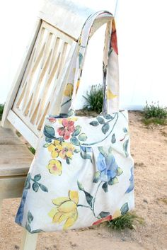 LOVE THIS!!!!!! My next bag @Becky Gurr ?? Floral Bag / Purse  w/ Double Handles by peacelovenpolkadots , $35.00