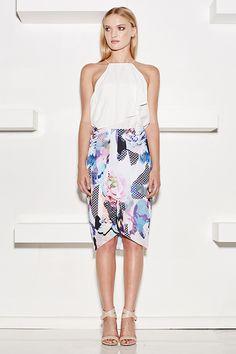 Kimono Top & Cherry Blossom Skirt Dress Clothes For Women, Social Events, Cherry Blossom, Short Dresses, Kimono Top, Boutique, My Style, Skirts, Fashion Design
