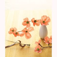 The 136 best diy crepe paper images on pinterest fabric dogwood blossoms from martha stewart craft kit but id bet crepe paper flowersfabric mightylinksfo