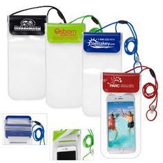 For a fun summer promo, try the All Purpose Waterproof Carrying Case…