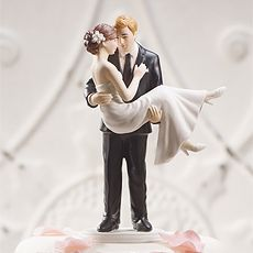 Swept Up In His Arms Wedding Figurine