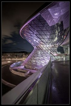 ☮ Unique Modern Architecture BMW Welt 8.0 by _ThirdEye_, via Flickr #architecture ☮k☮