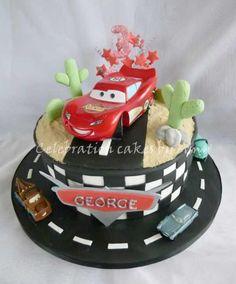 Disneys Cars cake Blue Note Bakery Austin Texas Crazy