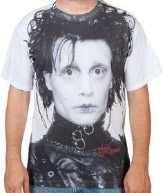 Edward Scissorhands Sublimation Shirt
