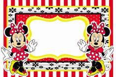 RCBX Personalizados: Minnie Vermelha: Kit Digital Convites, latinhas e ...