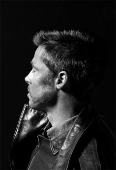 Brad Pitt~ Such a handsome man!
