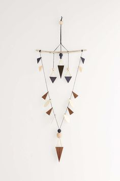 LIO and LINN Indigo Arrow Wall Hanging - Urban Outfitters