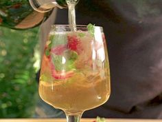 Get this all-star, easy-to-follow Cava Sangria recipe from Bobby Flay