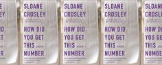 I recently finished Crosley's 'How Did You Get This Number'. I love her books but 'I Was Told There'd Be Cake' is by far still my favorite. I can't stop laughing when I read that book.