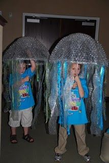 Jellyfish! (great as costumes for a play)