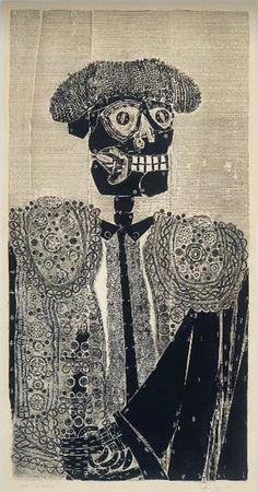 El Matador, 1964 - Antonio Berni Social Realism, Art Database, Gravure, Art Google, Unity, Surrealism, Collage, Culture, Portrait
