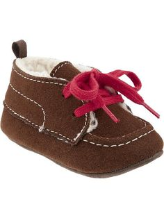 Sherpa Lined Sueded Moccasins