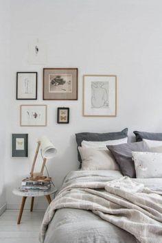 58 Comfy Modern Scandinavian Bedroom Ideas