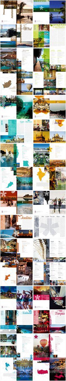 Kit Folders Destinos - Catálogos de destinos para empresa de viagens exclusivas B360.