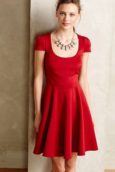 Viorica Flared Dress #anthropologie #anthrofave