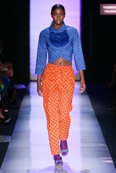 Thembeka Vilakazi @ South Africa Fashion Week 2013 - Day 2